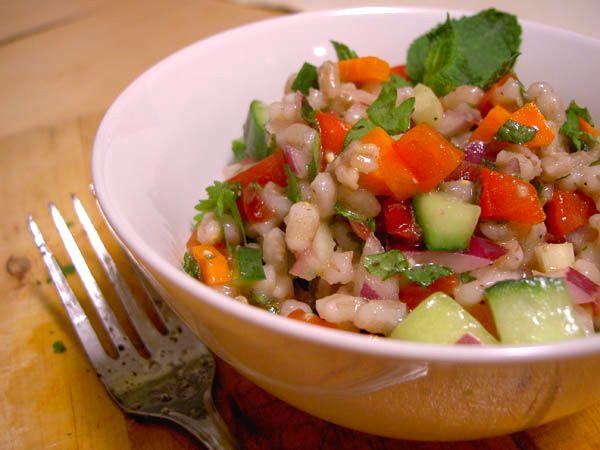 Barley-Cranberry Salad