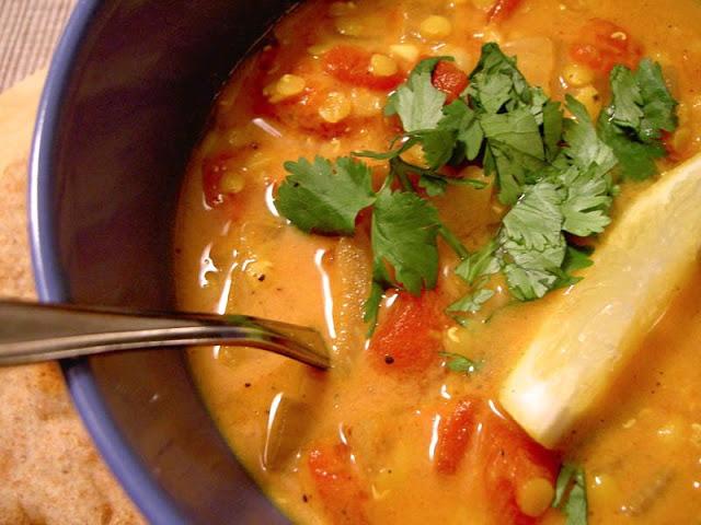 Dahl-Inspired Lentil Soup