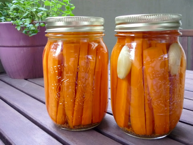 Pickled Dill Carrots