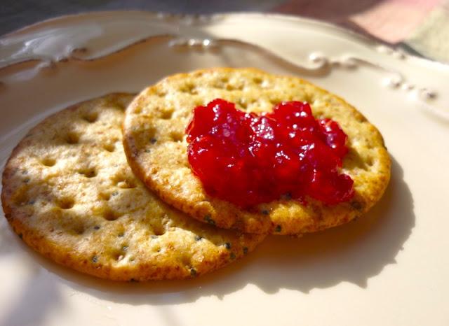 Low Sugar Raspberry Jam & Raspberry-Peach Jam