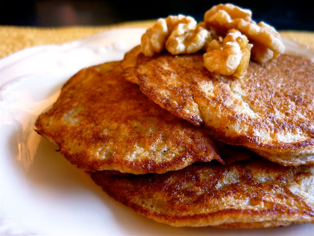 Banana-Buckwheat Pancakes