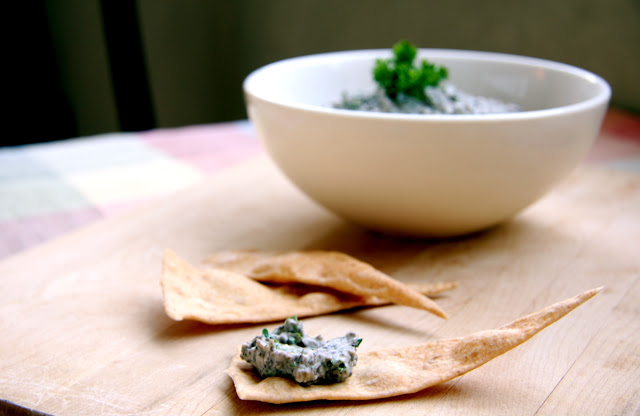 Roasted Portobello Mushroom Dip