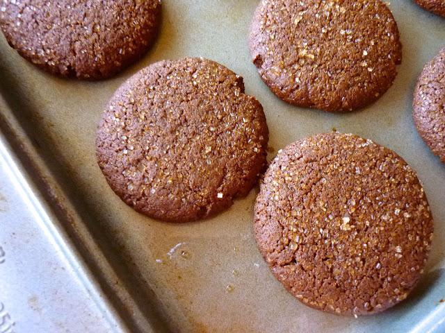 Rye ginger snaps
