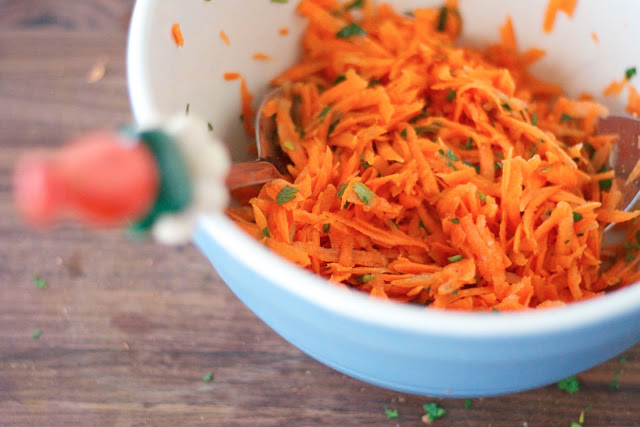 Simple French Carrot Salad