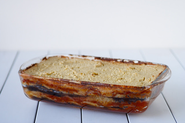 Vegan Moussaka with Cashew Cream
