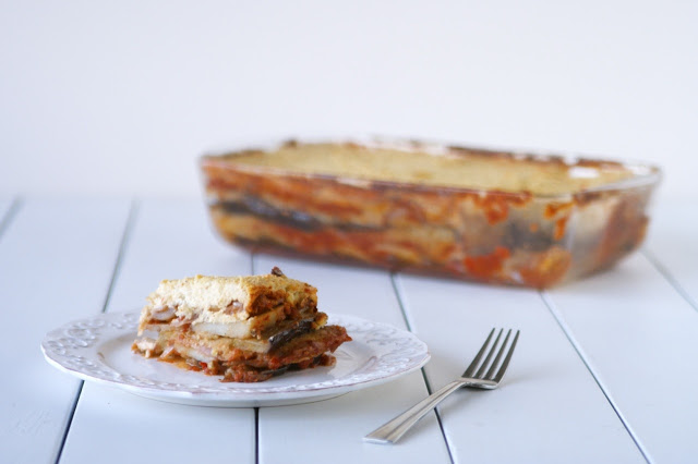 Vegan Moussaka with Cashew Cream