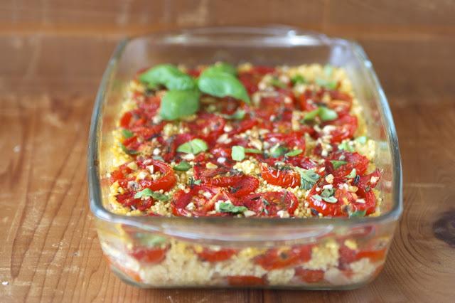 Roasted Tomato & Millet Casserole