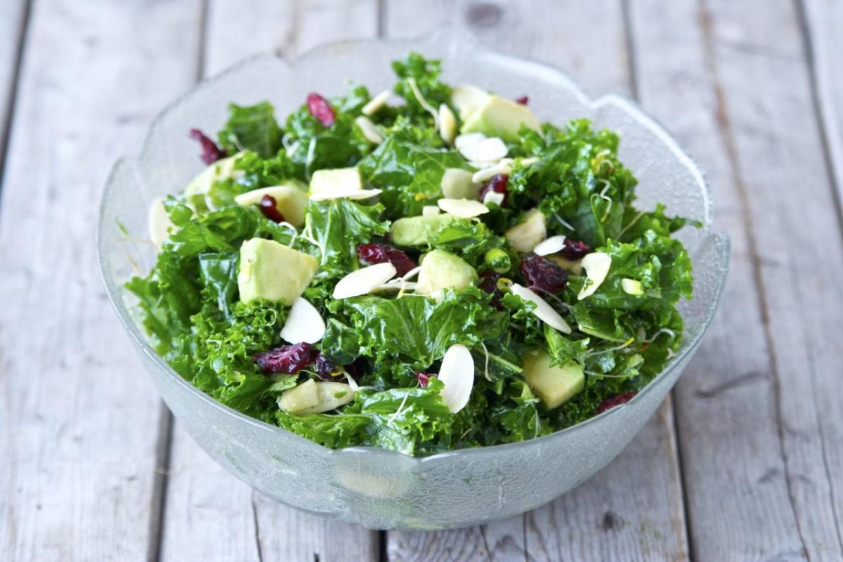 Kale Salad with Dijon Vinaigrette