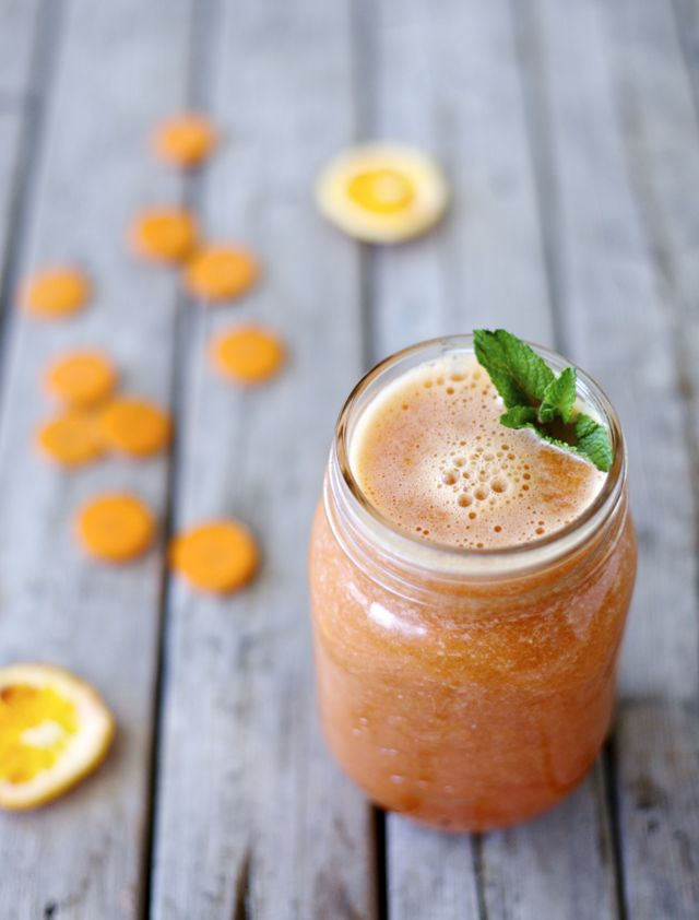 Zesty Orange & Carrot Smoothie