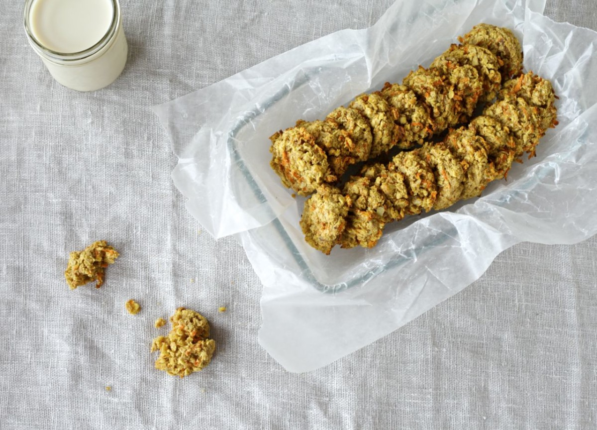 Carrot & Coconut Cookies