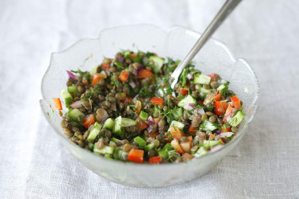 Tangy Lentil Salad