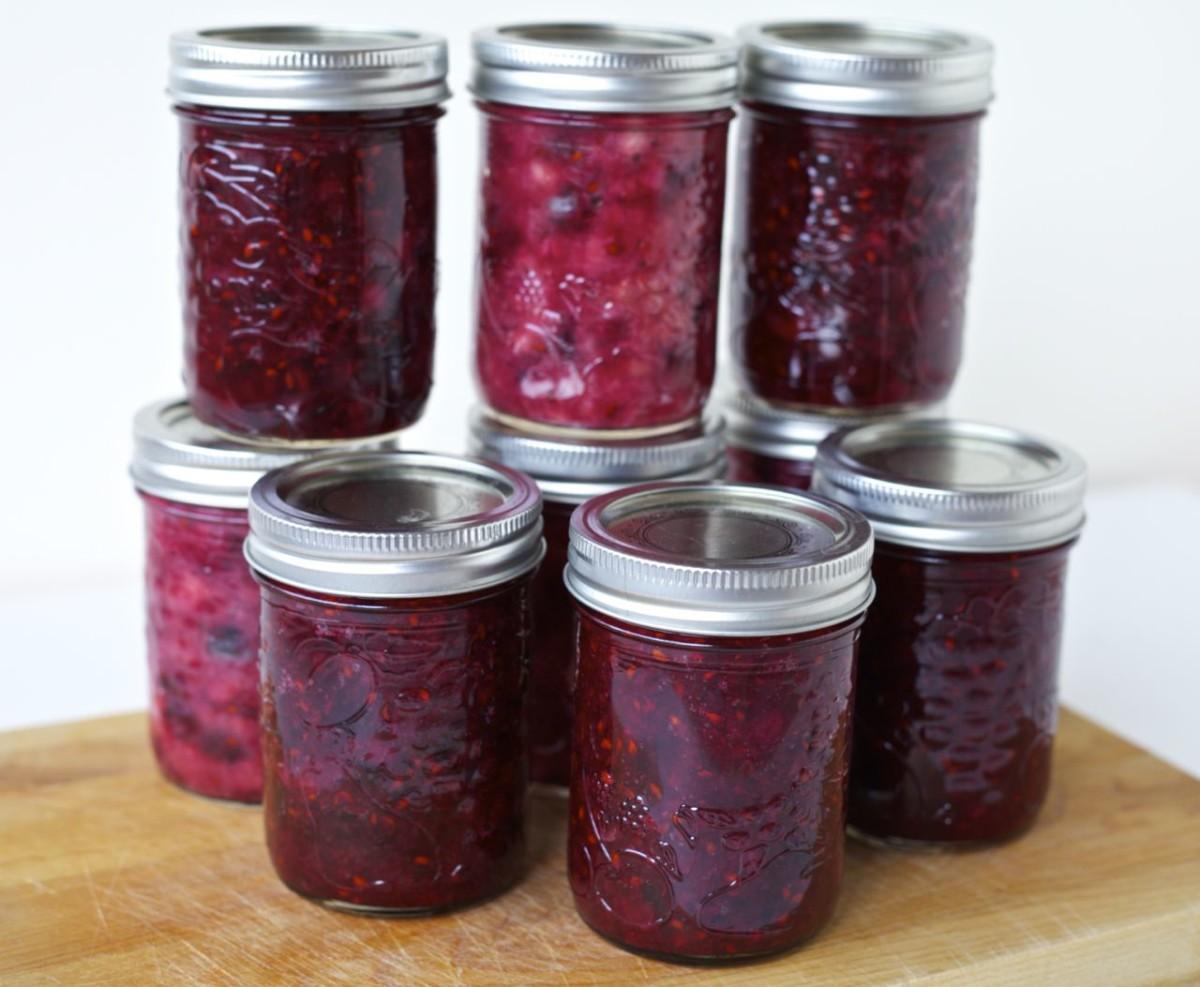 Serviceberry jam